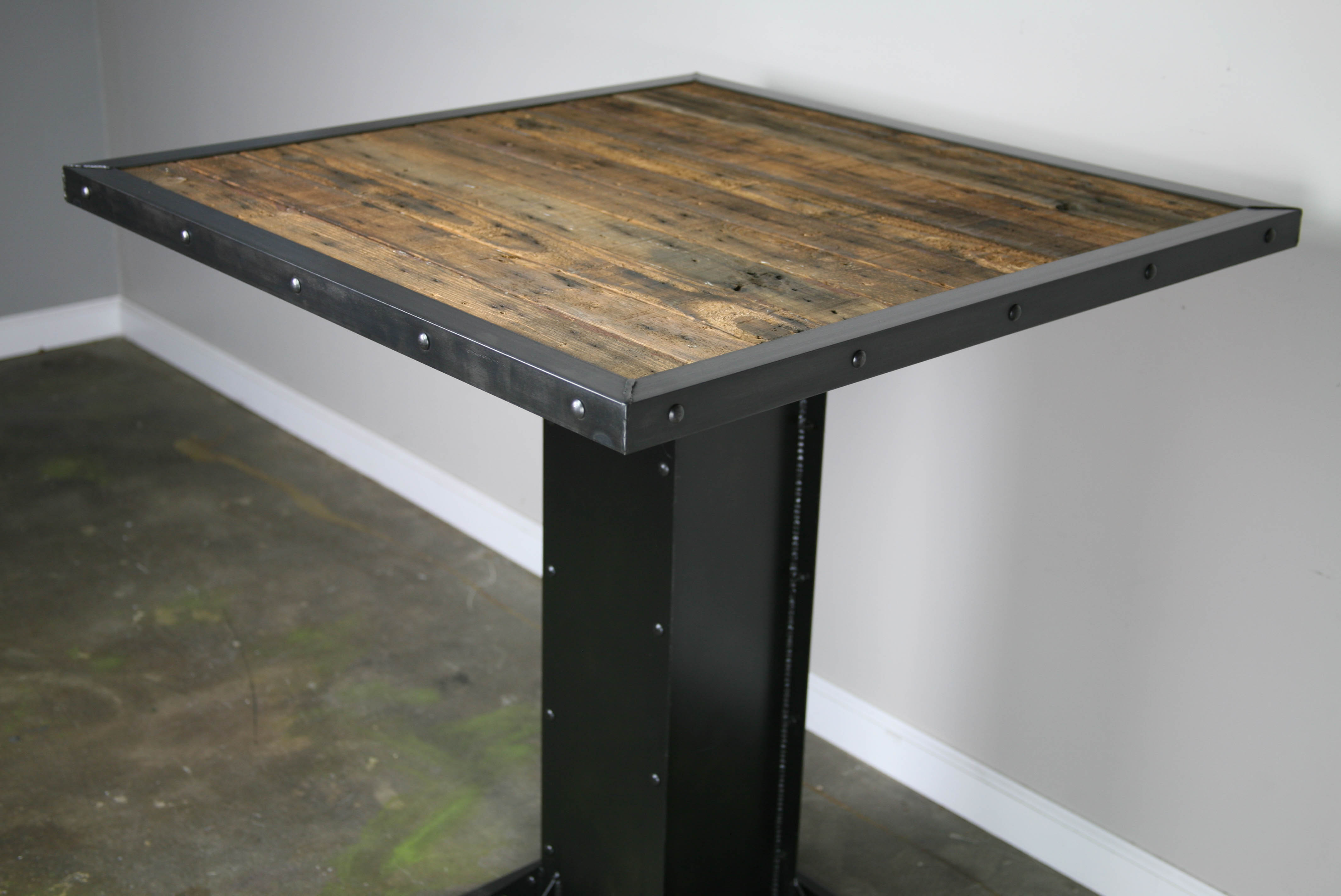 Combine 9 Industrial Furniture Industrial Bistro Table