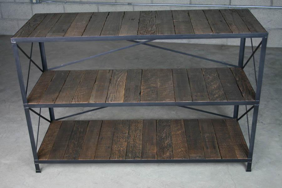 vintage industrial shelving unit combine 9. Black Bedroom Furniture Sets. Home Design Ideas