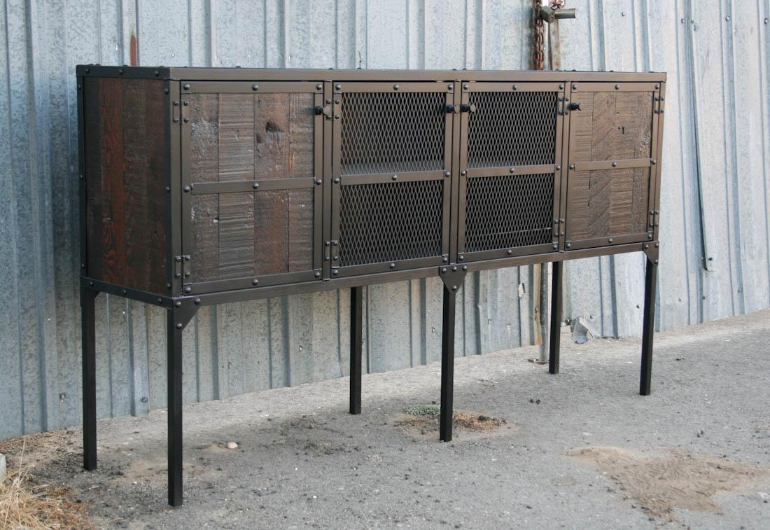 combine 9 industrial furniture categories sideboards. Black Bedroom Furniture Sets. Home Design Ideas