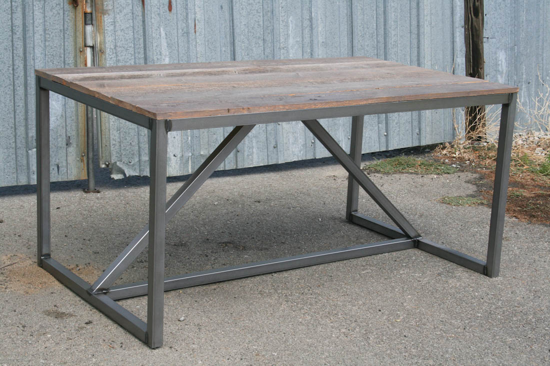 Industrial desk with drawers : modern industrial dingin table 6134 from www.combine9.com size 1100 x 733 jpeg 203kB