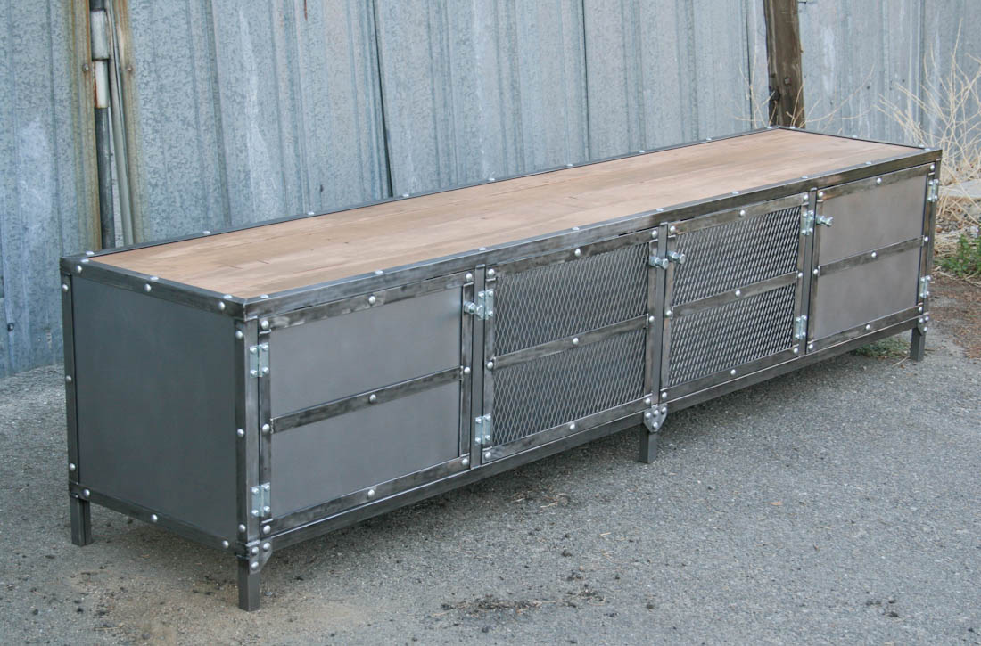 Industrial Furniture – Modern Industrial Console