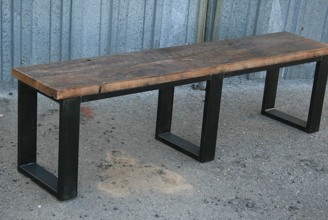 Combine 9 Industrial Furniture Industrial Bench