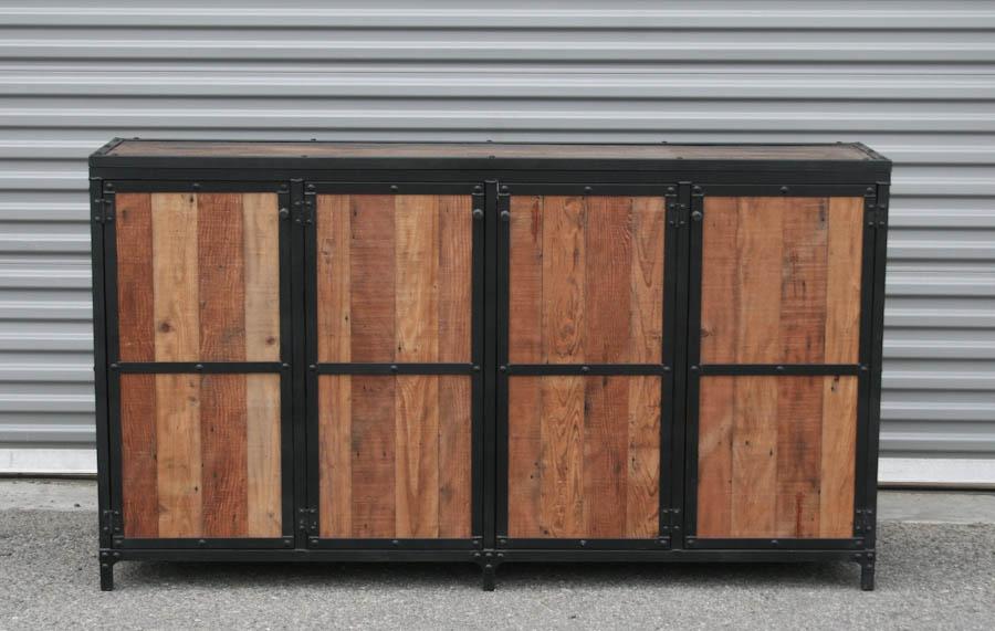 combine 9 industrial furniture industrial motorized tv. Black Bedroom Furniture Sets. Home Design Ideas