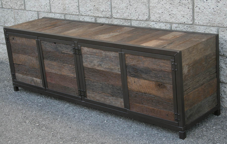 Combine 9 Industrial Furniture Handmade Rustic Media