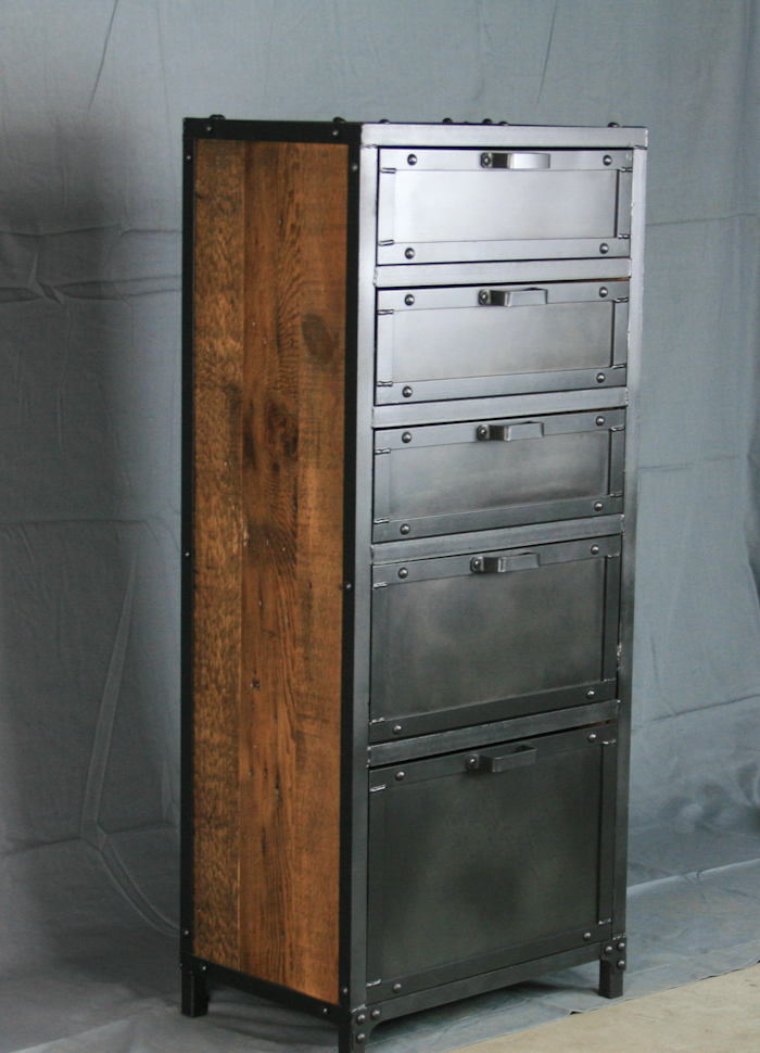 Modern Industrial Lingerie Chest - Combine 9