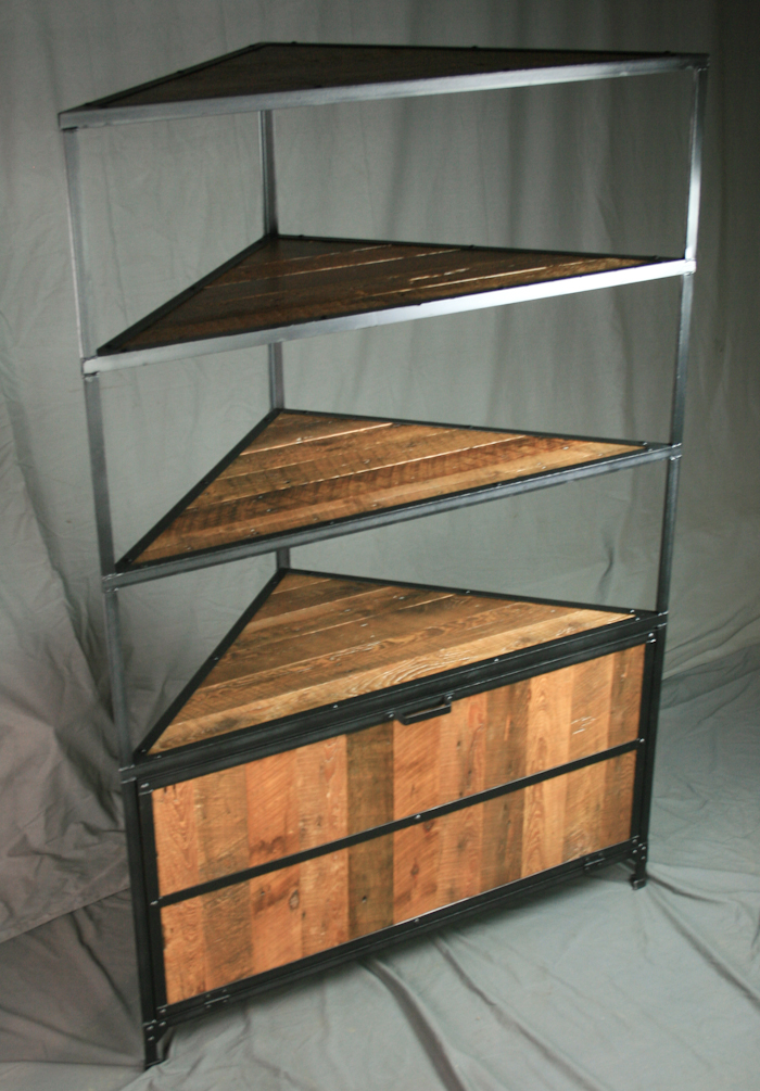 Reclaimed Wood Media Cabinet