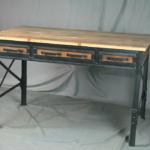 modern wooden desk