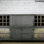 Industrial wine storage cabinet
