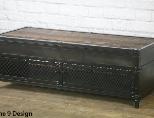 Vintage Industrial Lift Top Coffee Table