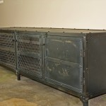All steel Industrial sideboard