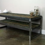 modern industrial media console