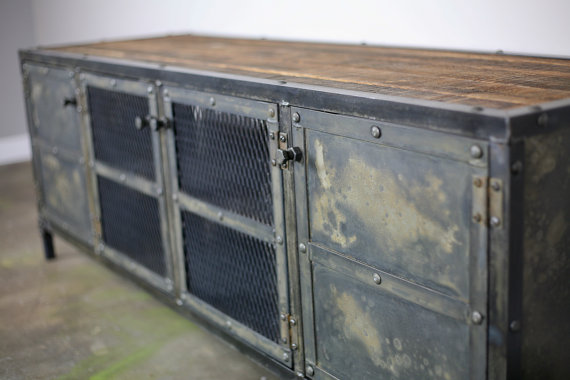 Combine 9 Industrial Furniture Industrial Buffet