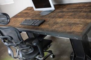 Recycled Barnwood desk