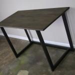 modern steel desk