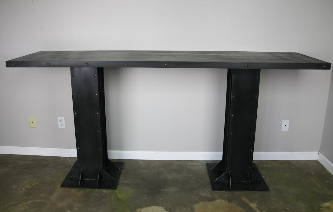 modern Industrial table