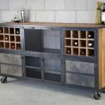 industrial liquor cabinet