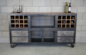 Rustic Liquor Cabinet Bar (3)