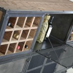 modern wine cabinet