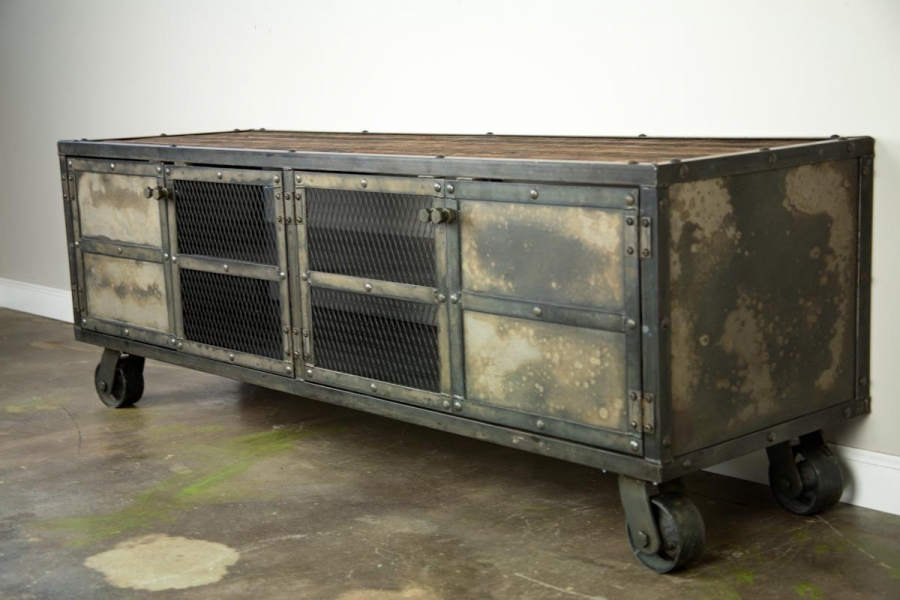 Combine 9 Industrial Furniture Sideboards Buffets