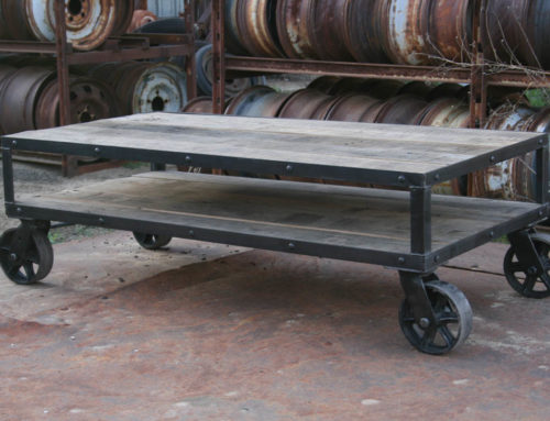 Coffee Table – Industrial/Rustic
