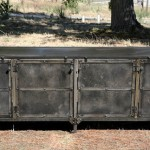 industrial steel sideboard