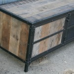Industrial Rustic Side Board