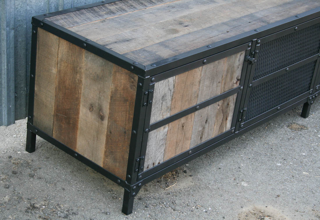 Combine 9 Industrial Furniture Industrial Rustic Credenza