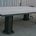 modern I-beam conference table