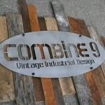industrial steel sign