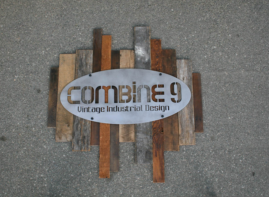 Combine 9 Industrial Furniture Reclaimed Wood And