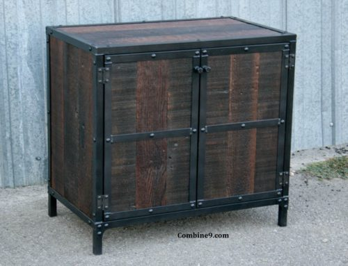 Reclaimed Wood Night Stand or End Table