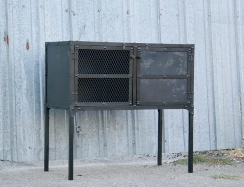 Industrial Steel Buffet – Hutch