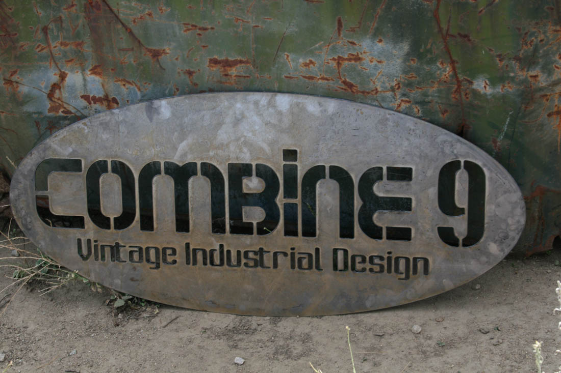 custom industrial sign