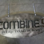 Custom Industrial Style Hanging Sign