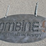 industrial urban Hanging Sign