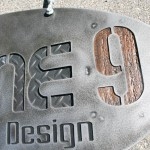 Industrial Style Hanging Sign
