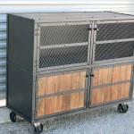 modern steel liquor cabinet