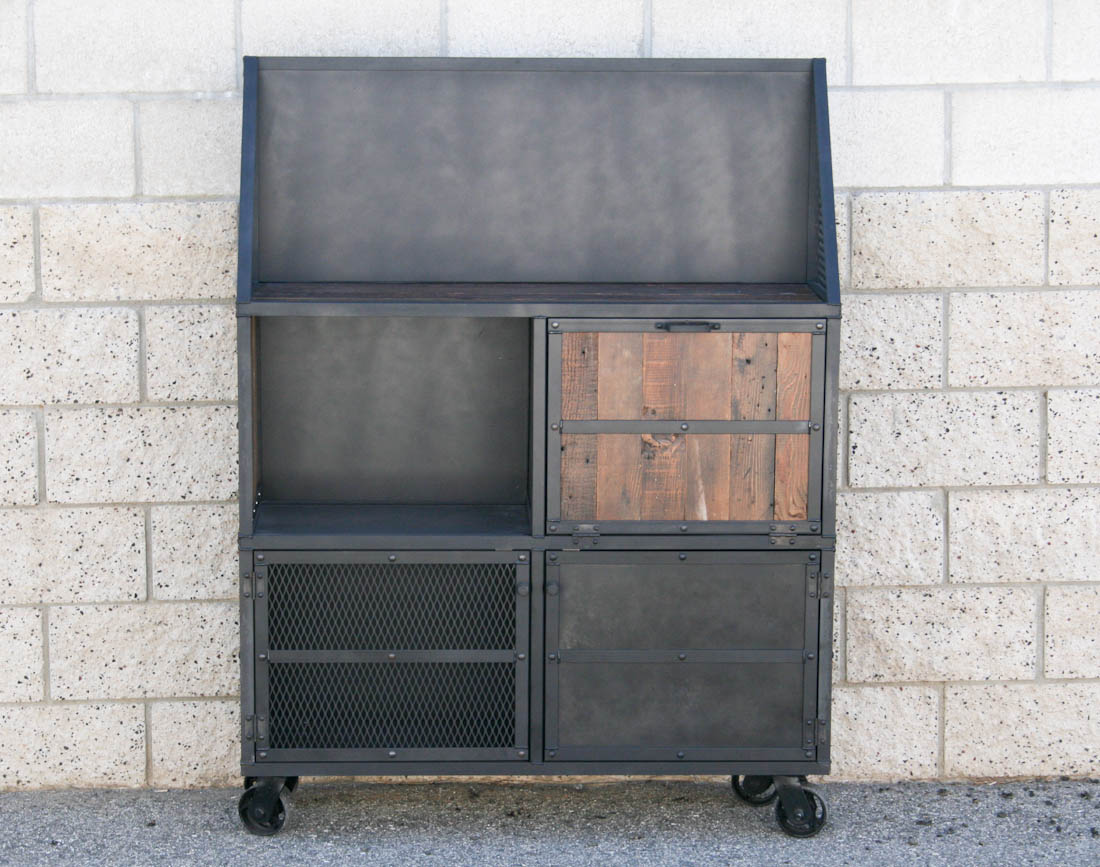 urban modern bar cart