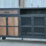 modern credenza with storage