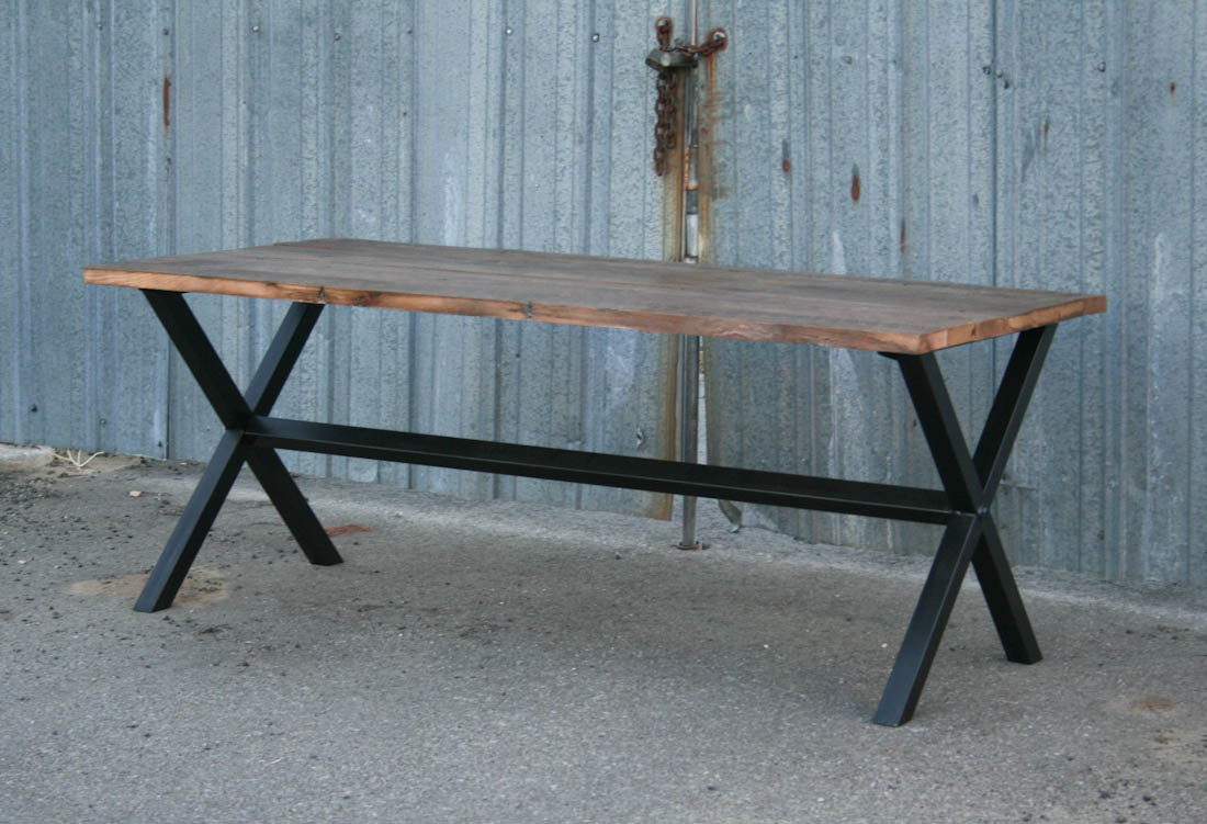 combine 9 industrial furniture modern industrial dining table