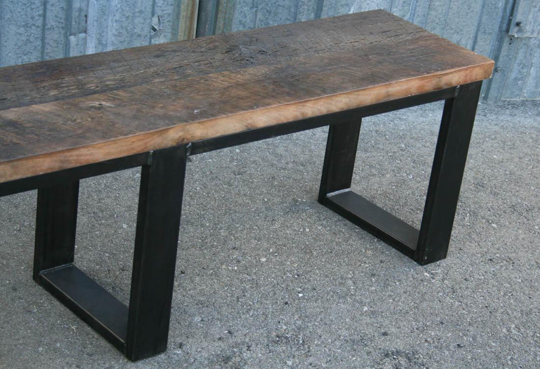 Combine 9   Industrial Furniture – Industrial Bench