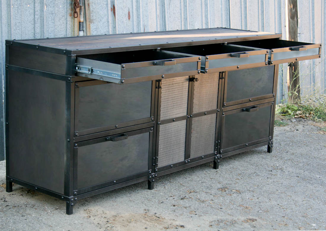 Combine 9 | Industrial Furniture – Industrial File Cabinet