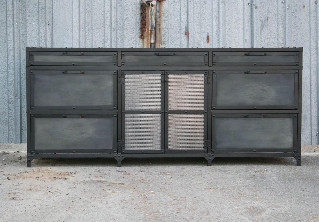 Industrial File Cabinet Combine 9 Industrial Furniture