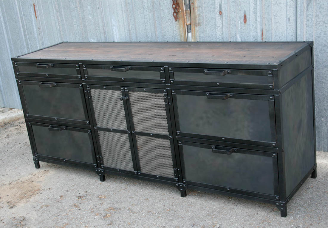 industrial metal cabinet combine 9 industrial furniture industrial file cabinet 17835