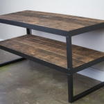 Modern Industrial TV Stand