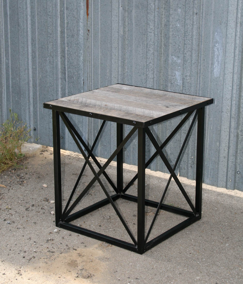 Combine 9 Industrial Furniture Reclaimed Wood End