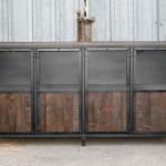 industrial display case