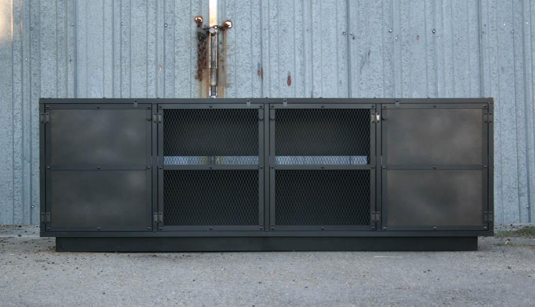 Combine 9 Industrial Furniture Industrial Buffet
