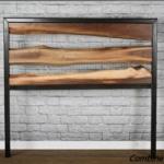 Live edhe wood head board