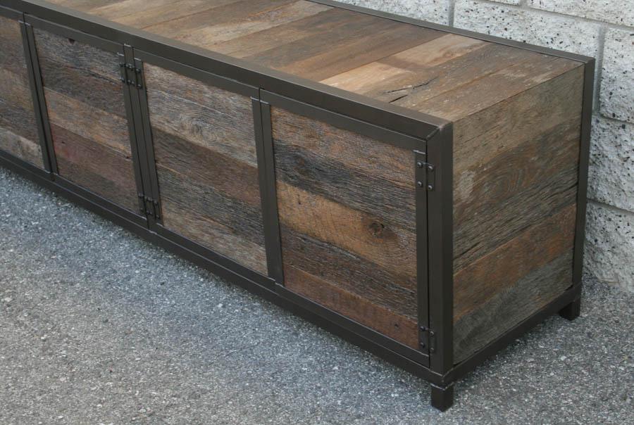 Combine 9 Industrial Furniture Handmade Rustic Media